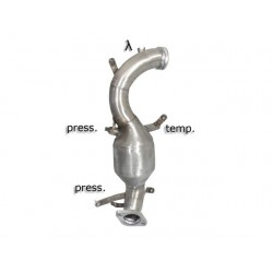 Catalyseur Gr.N tube suppression FAP Gr.N inoxRagazzon Alfa Romeo 159 2.0JTDm (100kW) Sportwagon 2010-2013