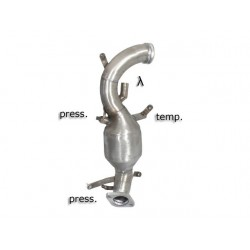 Catalyseur Gr.N tube suppression FAP Gr.N inoxRagazzon Alfa Romeo 159 2.0JTDm (125kW) Sportwagon 2009-2011