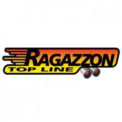 Silencieux arrière inox - 1 sortie ovale Sport Line 135x90mm Ragazzon Audi A3 (typ 8P) 2003-2013 A3 1.9TDi (77kW) - 2.0TDi (100/103kW) 05/2003-