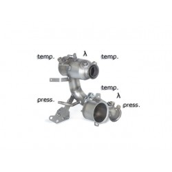 Catalyseur Gr.N tube suppression FAP Gr.N inox Ragazzon Audi A3 (typ 8V) 2012- 1.6TDi (77kW) 2012-