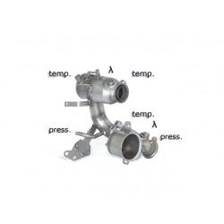 Catalyseur Gr.N tube suppression FAP Gr.N inoxRagazzon Audi A3 (typ 8V) 2012→ 1.6TDi (77kW) 2012→