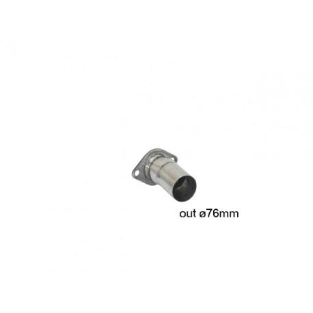 Adaptateur - Pour l'installation du silencieux arrière sur inter. origine Ragazzon BMW Série1 E81-E82-E87-E88 E82 M Coupè (250kW) 2011-2012