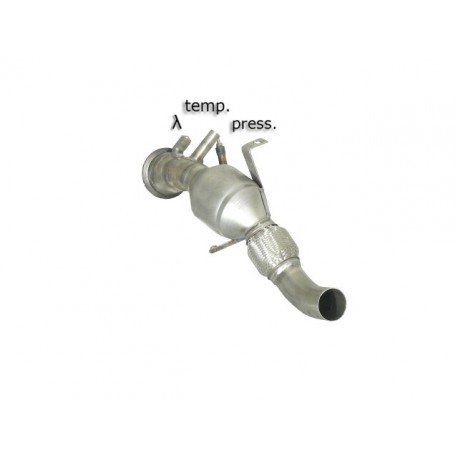 Catalyseur Gr.N tube suppression FAP Gr.N inox - mot.306D3 (2993cc)Ragazzon BMW Série3 E90-E91-E92-E93 E90(berline) 325D (145kw) 03/2005-2010