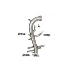 Tube décata. tube suppression FAP Gr.N inoxRagazzon Fiat SEDICI 2.0 Multijet (99kW) 2009→