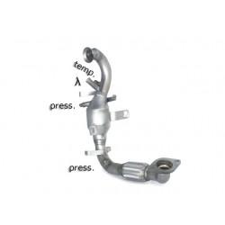 Catalyseur Gr.N tube suppression FAP Gr.N inoxRagazzon Ford Focus III (typ DYB 2010→) 1.6TDci (85kW) 10/2010→2015