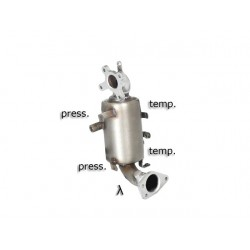 Catalyseur Gr.N tube suppression FAP Gr.N inox Ragazzon Nissan X-Trail (typ T30 / T31) (T30) 2.2dCi (100kW) 2003-2007