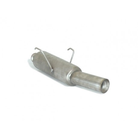 Silencieux arrière Gr.N inox - 1 sortie ronde 80mm Ragazzon Peugeot 106 1.1 Sport (40/44kW) 2000→