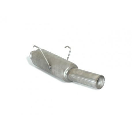 Silencieux arrière Gr.N inox - 1 sortie ronde 80mm Ragazzon Peugeot 106 1.6 GTI 16V (88kW) 1996 → 2000