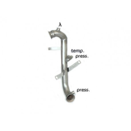 Tube décata. tube suppression FAP Gr.N inox - mot.9HR (1560cc)Ragazzon Peugeot 207 1.6HDi (82kW) 2010→
