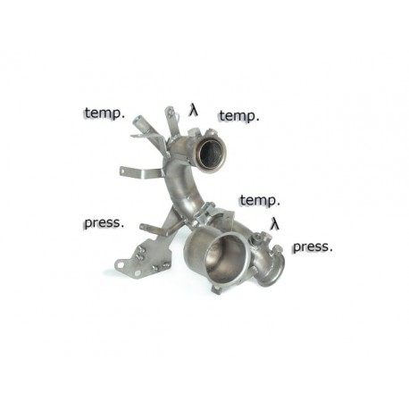 Tube décata. tube suppression FAP Gr.N inoxRagazzon Seat Leon III (5F) 1.6TDi (77kW) 2013→