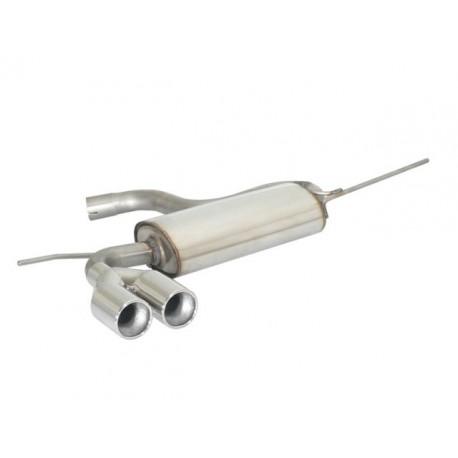 Silencieux arrière inox - 2 sorties rondes 80mm décalées Ragazzon Skoda Yeti 1.4TSI (90kW) 2011→