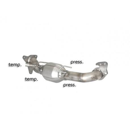 Catalyseur Gr.N tube suppression FAP Gr.N inoxRagazzon Subaru Forester III (typ SH) 2.0D (108kW) 04/2008-