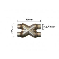 Compensateur - diamètre 76 mm Ragazzon Universel Compensateurs Compensatore