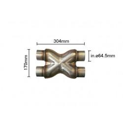 Compensateur - diamètre 64,5 mm Ragazzon Universel Compensateurs Compensatore