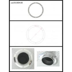 Protection esthétique inox ronde fermée pour sortie ronde 80mm Ragazzon Universel Protections Estètiques View All