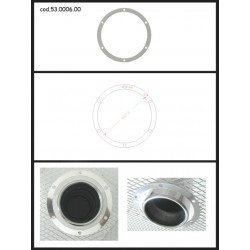 Protection esthétique inox ronde fermée pour sortie ronde 102mm Ragazzon Universel Protections Estètiques View All