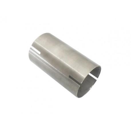 Raccord en acier inox Aisi 304 - diamètre interne 45,5 mm - longueur 100mm Ragazzon Universel Raccords Raccordo inox Aisi 304