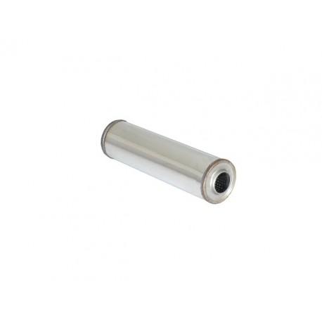 Silencieux universal rond inox 120 mm - longueur 450 mm - tube perforé diamètre 60mm Ragazzon Universel Silencieux RO.120