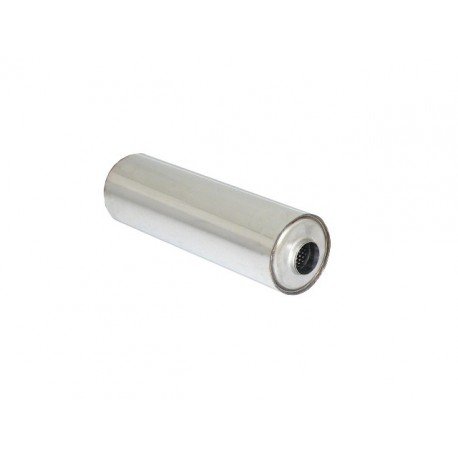Silencieux universal rond inox 155 mm - longueur 520 mm - tube perforé diamètre 60mm Ragazzon Universel Silencieux RO.155