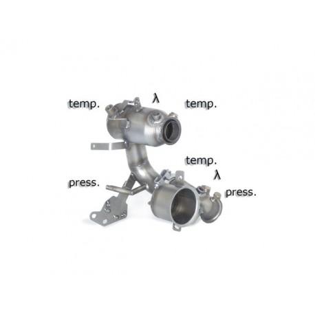Catalyseur Gr.N tube suppression FAP Gr.N inoxRagazzon Volkswagen Golf VII 1.6TDi (66 / 81kW) 2013-