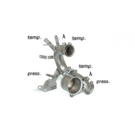 Tube décata. tube suppression FAP Gr.N inoxRagazzon Volkswagen Golf VII 1.6TDi (77kW) 2012→2014