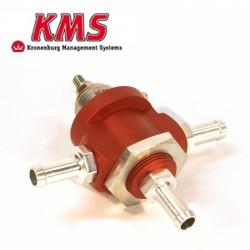 Régulateur de pression d'essence réglable 0-5bar | 3 voies | KMS Van Kronenburg