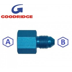 Adaptateur aluminium BSP femelle / DASH mâle (JIC) GOODRIDGE