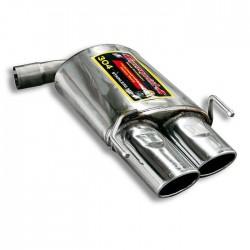 Silencieux arrière Droite 120 x 80 Supersprint Alfa Romeo BRERA / SPIDER 2.0 JTDM 170ch 2009-