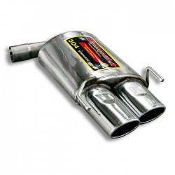 Silencieux arrière Droite 120 x 80 Supersprint Alfa Romeo BRERA / SPIDER 2.2 JTS 2006→