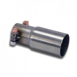 pipe pour silencieux central d'origine Supersprint Alfa Romeo MiTo 1.4i T (120-135ch) 2008-
