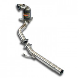 Downpipe + Catalyseur métallique Supersprint Audi A3 8V Carbiolet 1.4 TSI (125-140-150ch) 2014→