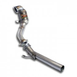 Downpipe + Catalyseur métallique WRC 100CPSI Supersprint Audi A3 8V Berline 1.8 TFSI 180ch 2013-2015