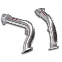 Downpipe Droite + Gauche - (remplace le catalyseur d'origine) Supersprint Audi A4 B8 Berline+Break Quattro 3.2 FSi V6 265ch 2008-2012