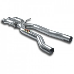 "Central ""X-Pipe"" Supersprint Audi A6 C6 Typ 4F Allroad 3.2 FSI V6 (255ch) 2006-2009"