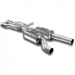 "Silencieux central + ""X-Pipe"" Supersprint Audi A6 C6 Typ 4F Quattro (4p. + Avant) 3.0TFSI V6 (290ch) 08-11"