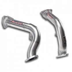 Downpipe Droite + Gauche - (remplace le catalyseur d'origine) Supersprint Audi A6 C7 Typ 4G Allroad 3.0 TFSI V6 310-333ch 2012-