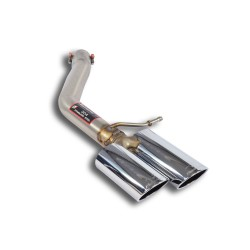 Tube de fuite gauche 100x75 Supersprint Audi A8 Quattro D4 Typ 4H 3.0 TDI V6 250ch 2010→