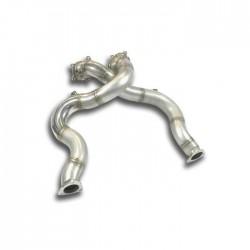 Descente tube Droite + Gauche - (remplace catalyseur) Supersprint Audi A8 Quattro D4 Typ 4H 4.0 TFSI V8 (420ch) 2012-