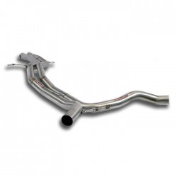 "Central ""H-Pipe"" kit Supersprint Audi S8 D4 Typ 4H Quattro 4.0 TFSI V8 (520ch) 2012-(Cat.-Back)"