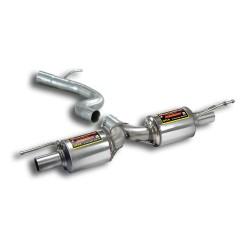 """Silencieux arrière """"Racing"""" Supersprint Audi TTS 8J Quattro Coupé/Roadster 2.0 TFSi (275ch) 08→14"""