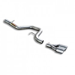 Tube de fuite OO80 Supersprint BMW Série 1 E81 3 Portes 123d 07→