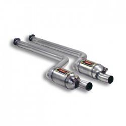 Silencieux avant Droite + Gauche avec catalyseurs métalliques 200CPSI Supersprint BMW Série 1 E81 3 Portes 130i (265-258ch) 07→12