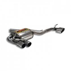 Silencieux arrière Droite OO80 - Gauche OO80 - (pour pack M-Technik) Supersprint BMW Série 1 E81 3 Portes 130i (265-258ch) 07-12