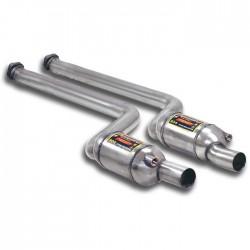 Catalyseurs métalliques Droite + Gauche Supersprint BMW Série 1 E82 Coupé M (340ch) 2011-