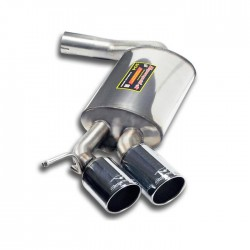 Silencieux arrière OO80 Supersprint BMW Série 1 E87 5 Portes 116d 115ch, 118d 143ch, 120d 177ch 2007-2012