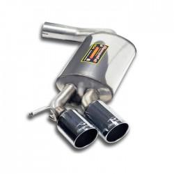 Silencieux arrière OO80 - (pour pack M-Technik) Supersprint BMW Série 1 E87 5 Portes 118d, 120d 2004-2006
