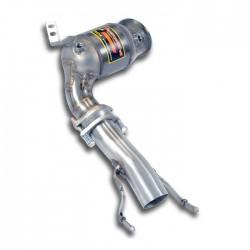 Tube de descente de Turbo avec catalyseur métallique Supersprint BMW Série 2 F46 Gran Tourer 220i 2.0T (Moteur B48-192ch) 2015-