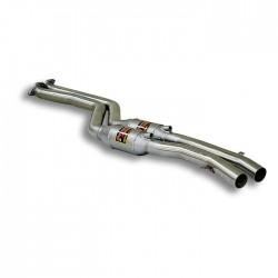 Silencieux avant avec catalyseurs métalliques Droite + Gauche Supersprint BMW Série 3 E46 Compact 325ti 01→