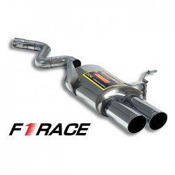 "Silencieux arrière Gauche ""F1 Race ALLÉGÉ"" OO80 Supersprint BMW Série 3 E90 Berline M3 4.0 V8 07-11"
