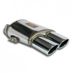 Silencieux arrière Droite 120x80. Supersprint Ferrari 550 V12 Maranello